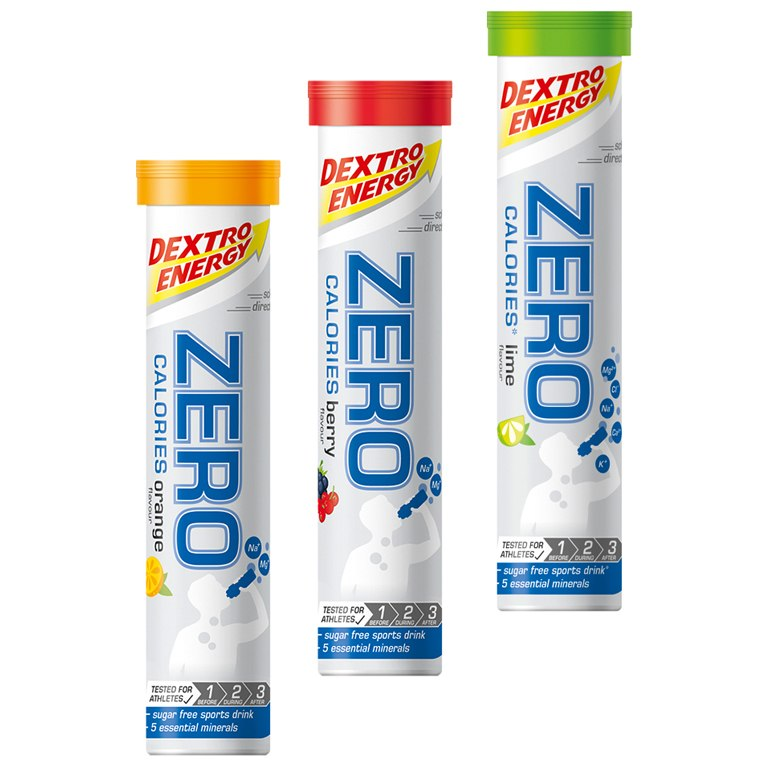 Dextro energy zero calories jako ideální pití do diety